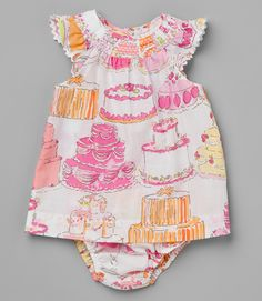 Birthday dress for Olivia...might need a cute sweater for it.
