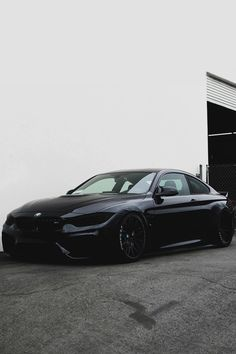 "envyavenue: ""Blacked Out BMW M4 """