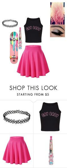 """""""Request by friend"""" by pansexual-punk-14 ❤ liked on Polyvore featuring Ernesto Esposito and Cotton Candy"""