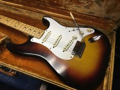 1958 Fender Stratocaster One Owner with Tags Paperwork and Provenance | eBay
