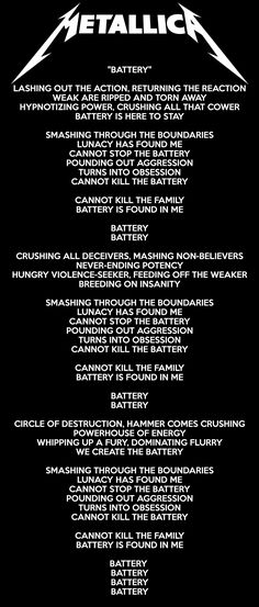 For everything Metallica check out Iomoio Metallica Quotes, Metallica Lyrics, James Metallica, Cool Lyrics, Music Lyrics, Rock Songs, Rock Music, Rock Lyric Quotes, Hard Rock