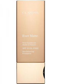 9. Clarins Ever Matte Oil-free Foundation - 13 Best Foundations for Oily Skin ... → Makeup