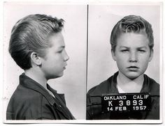 february 14, 1957 mugshot.