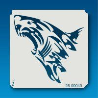 26-00040 Great White Shark Tribal