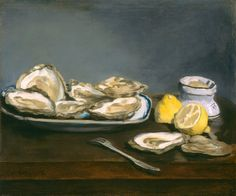 Edouard Manet Oysters 1862