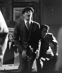 ragdoll230:  Martin and Lewis playing around on the set of the film The Stooge. Life Magazine, April 1951