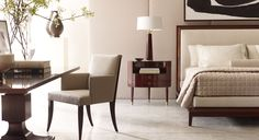 The Thomas Pheasant Collection - Baker Furniture modern bedroom Serene Bedroom, Beautiful Bedrooms, Modern Bedroom, Master Bedroom, Baker Furniture, Furniture Design, Interior Exterior, Interior Design, Ford Interior