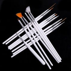 15 pcs/Set Nail Art Painting Drawing Pens/Elegant Nail Dotting Pen For UV Gel DIY Nail Tools Decorations