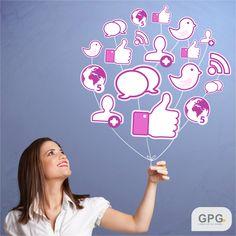 Suas redes sociais sempre em boas mãos, venha para a #GPG!