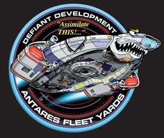 "Defiant class - Development patch ""Assimilate THIS! ..."""