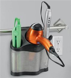 Stainless steel styling station from Problem Solvers