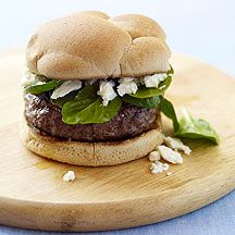 Griekse kaasburger Recept | Weight Watchers Nederland