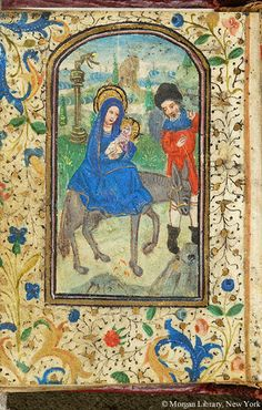 Book of Hours, MS W.28 fol. 144v - Images from Medieval and Renaissance Manuscripts - The Morgan Library & Museum