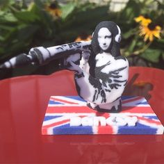 Something we liked from Instagram! Fan of street art? Check out 3D Printed Banksy Art by @render3dart  @raysspl @mitcheldumlao805 @daviderod #eezitec #3dprinted #3dprinting #art #streetart #banksy #monalisa #bazooka #rocketlauncher by eezitec check us out: http://bit.ly/1KyLetq