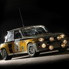Renault 5 Turbo 2 rally car - Group B