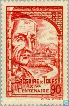 Postage Stamps - France [FRA] - Gregoire de Tours