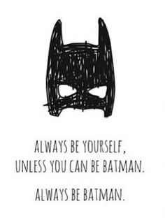 Meenyminy #batman #poster