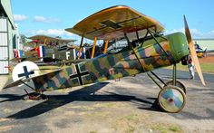 Fokker D.VIII VH-EIV at the TAVAS Great Vintage Fly-In