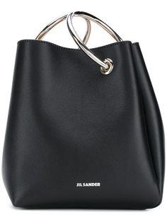 b0a9ce6d8 Compre Jil Sander Bolsa tote de couro Bolsas De Couro, Acessórios  Femininos, Cinto,