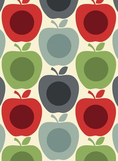 ORLA KIELY, APPLE PRINT