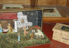 Sofia Cavalletti's nativity and adoration of the shepherds work for the Catechesis of the Good Shepherd