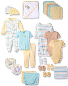 Amazon.com: Luvable Friends Baby 24 Piece Gift Cube: Clothing