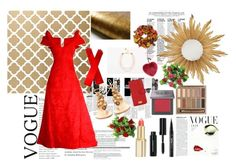 """""""Example set for 'Wouldn't be without 'em!' contest!/Long given with long gloves"""" by sarah-m-smith ❤ liked on Polyvore featuring Arnold Scaasi, Aquazzura, Dolce&Gabbana, Jonathan Charles Fine Furniture, Paperself, L'Oréal Paris, Bobbi Brown Cosmetics, Urban Decay, Kat Von D and Helen Moore"""