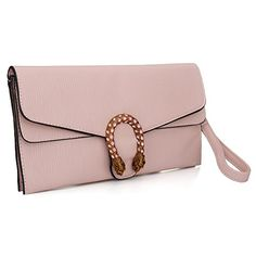 3939075022e Leather Crossbody Purses Clutch Phone Wallets with Card Slots for Women  (Pink)