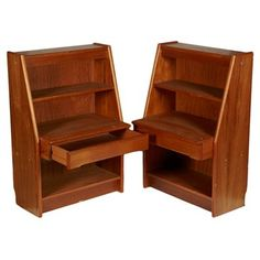 Check out this item at One Kings Lane! 1960s Danish Nightstands, Pair