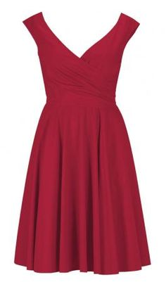 Red bridesmaid dress - totally re-wearable!