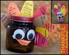 Thanksgiving craft for Kids -  Thankful Turkey
