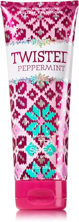 TWISTED PEPPERMINT 24 Hour Moisture Ultra Shea Body Cream - Signature Collection - Bath & Body Works