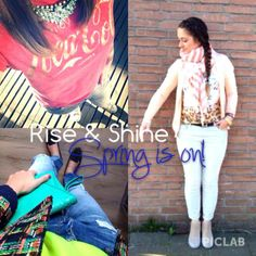 Rise & Shine. Spring is on! XOXO TFS! Follow, Like & Love us on: www.thefullstory.nl www.facebook.com/thefullstory.nl www.Instagram.com/thefullstory