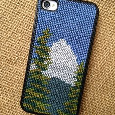 Mt. Hood stitched by Erica Horton