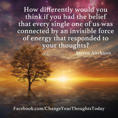 We are all connected - #motivational - More at