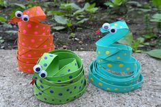 kids craft snake - Google Search