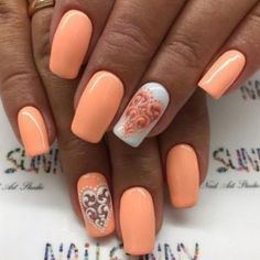 33 So-Pretty Nail Art Designs zum Valentinstag , Diy Nail Designs, Pretty Nail Art, Beautiful Nail Designs, Love Nails, How To Do Nails, My Nails, Nagel Stamping, Latest Nail Art, Nail Arts