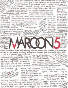 i don't love maroon 5 that much, but this is really cool.