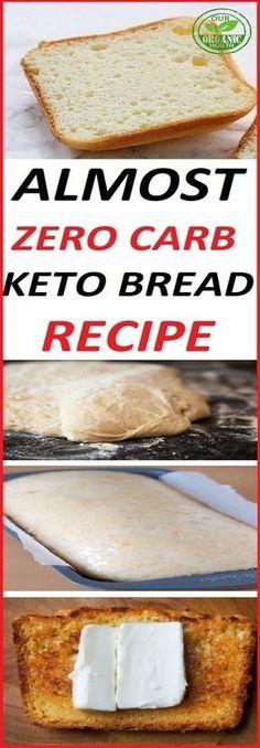 ALMOST ZERO CARB KETO BREAD RECIPE cauliflower recipes cauliflower recipes; Ketogenic Recipes, Diabetic Recipes, Low Carb Recipes, Cooking Recipes, Ketogenic Diet, Vegetarian Recipes, Protein Recipes, Cooking Tips, Healthy Recipes