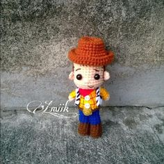 Amigurumi Toy Story 48 Models to Make at Home Come Crochet Gifts, Crochet Dolls, Free Crochet, Knit Crochet, Amigurumi Toys, Amigurumi Patterns, Crochet Patterns, Crochet Disney, Disney Pixar