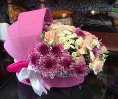 Ideas birthday flowers bouquet beautiful roses gift valentines for 2019 Basket Flower Arrangements, Floral Arrangements, Baby Shower Centerpieces, Baby Shower Decorations, Diy Baby Gifts, Baby Shower Gifts, Flower Packaging, Bouquet, Rose Gift