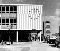"furtho: "" Harlow New Town, Essex (via Love London council housing) "" Council Estate, Council House, Chief Architect, Milton Keynes, Brutalist, Street Photo, Vintage Travel Posters, Modern Classic"