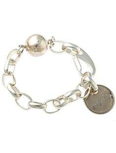 funky silver bracelet from Twisted-Silver.  My go-to bracelet for all occasions. #colorsofsummer