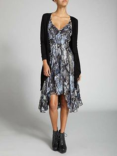 Label Lab Tree Print Swing Panel Dress House of Fraser