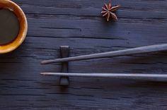 japanese-inspired chopsticks. carved cherry wood. shou sugi ban. #madeinthesouth #mespeakdesign