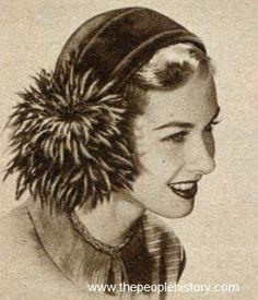 Glamour Cap 1950