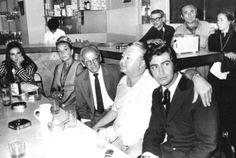 SUSANA RINALDI, OSVALDO PUGLIESE, ANÍBAL TROILO Y ABEL CÓRDOBA EN EL HORIZONTE CLUB    MAR DEL PLATA - 1970 Argentine Tango, Vignettes, Legends, Club, Couple Photos, Nice, Couples, Dating, Music Genre