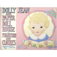 DOLLY JEAN PAPER DOLL BOOK
