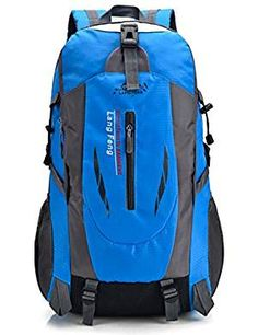 Backpacks Lightweight Waterproof Backpack Travel. >>> Want additional info? Click on the image. (This is an affiliate link) Hiking Backpack, Travel Backpack, Waterproof Backpack, Best Handbags, Mountaineering, North Face Backpack, Luxury Bags, Trekking, Backpacks