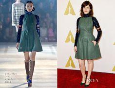 Felicity Jones In Christian Dior - 87th Academy Awards Nominee Luncheon